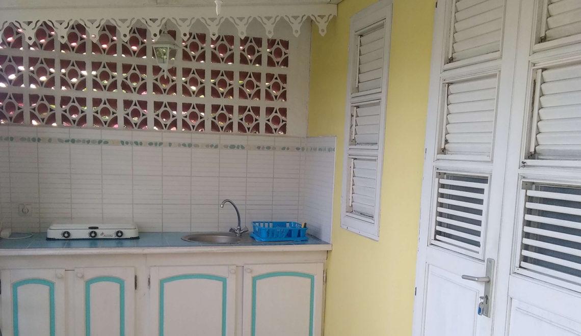 Espace-cuisine-Terrasse - Les Jardins de Laclos - Martinique