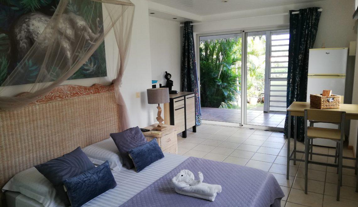Studio Turquoise - Les Jardins de Laclos - Location saisonnière Martinique